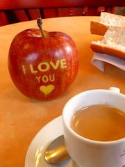 pomme d'amour...