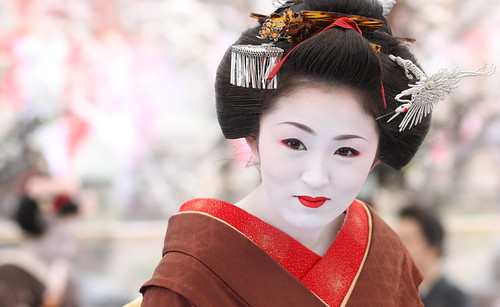 The Final Day : The maiko (apprentice geisha) Ichimame / 舞妓 市まめさん / Kyoto, Japan