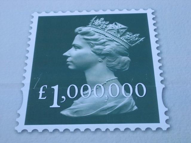Million pound stamp