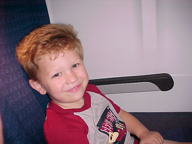 1st time on an airplane
