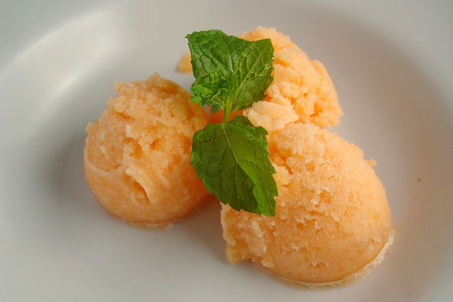 Cantaloupe Sorbet | Flickr - Photo Sharing!