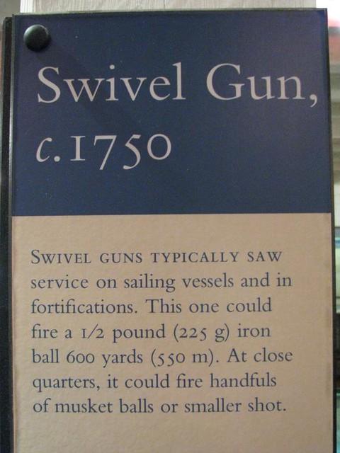 Fort York 58 - Blockhouse No. 2 - British - 1/2 Pounder Swivel Gun - 1750