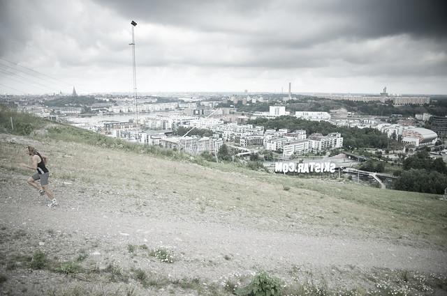 Interval running (hill) 4 by Michael Lokner, on Flickr