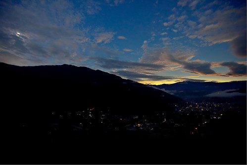 2009 Total Solar Eclipse Over Thimphu