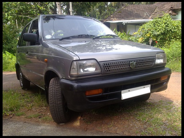 My ol' Maruti Suzuki 800