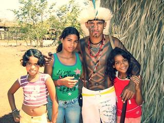 kariri-xocó e crianças