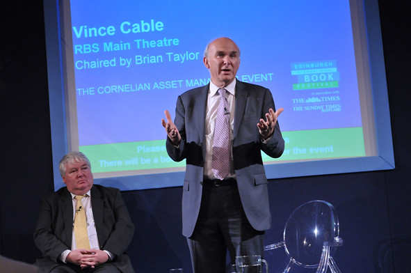 Vince Cable & Brian Taylor