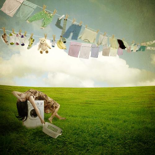 laundry tribulations by Jenny Terasaki Photography