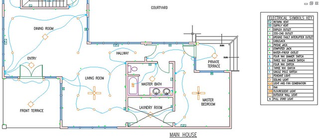 Electrical And Hvac Plan Close Up 1 Flickr Photo Sharing