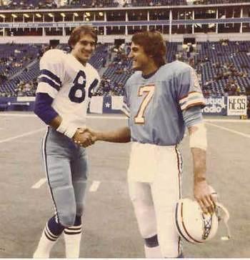 Doug Cosbie and Dan Pastorini