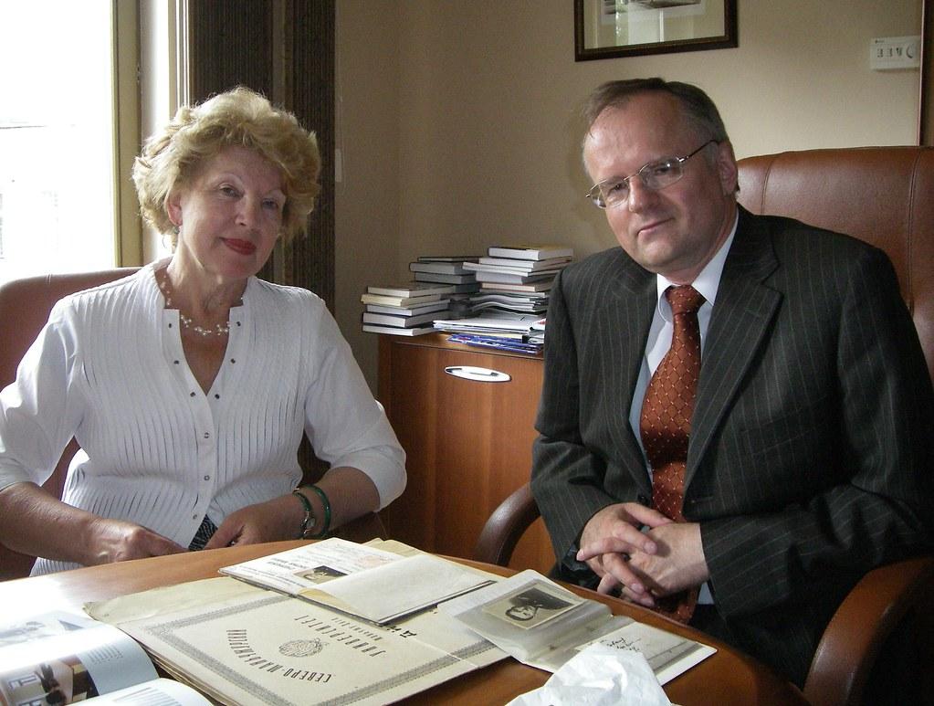 Mum and Mr Moskvin