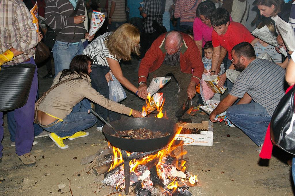 Fiestas de la castaña en Capileira