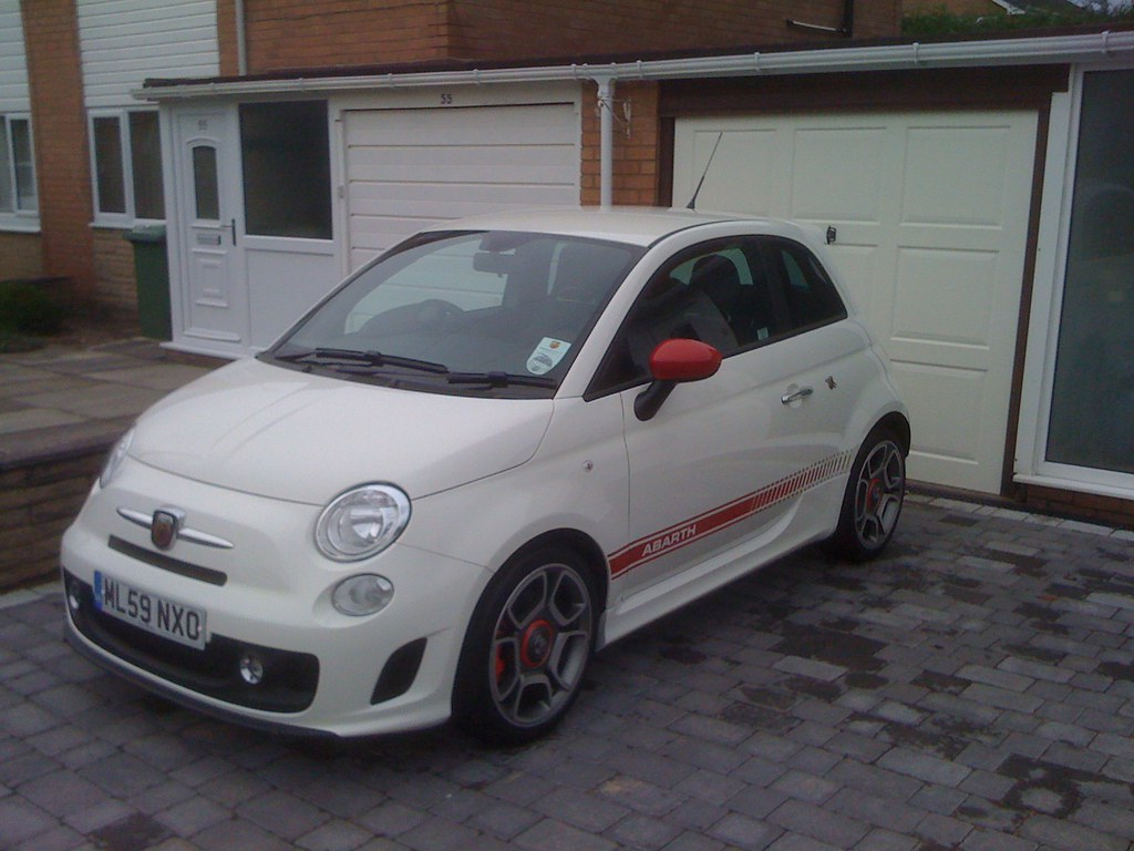 500 abarth my new abarth 500 the fiat forum. Black Bedroom Furniture Sets. Home Design Ideas