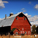Red barn in Wellsville