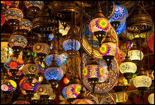 Lamps in the Grand Bazaar