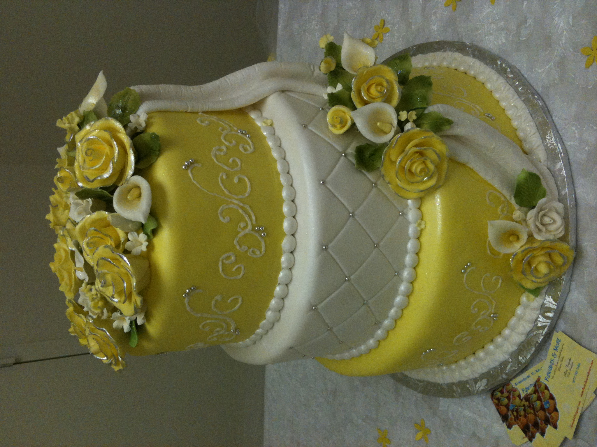 how to make quilted fondant cake