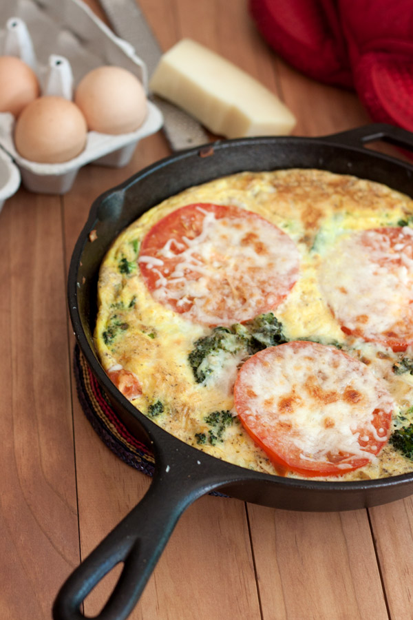 Cheesy Potato and Vegetable Frittata | Recipe on Back to ...