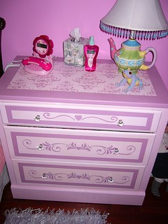 Furniture I painted for a little girls room