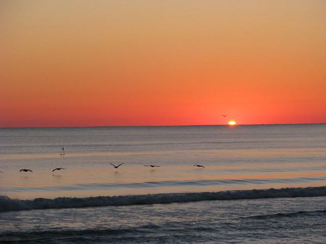 Outer banks sunrise surf fishing flickr photo sharing for Surf fishing outer banks
