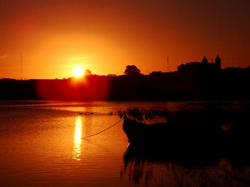 sunset pordosol sun sol sunrise entardecer jaguarão forofthesun aplusphoto riojaguarão tff1 riverjaguarão