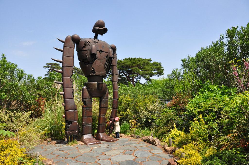 Robot de El Castillo sobre el Cielo