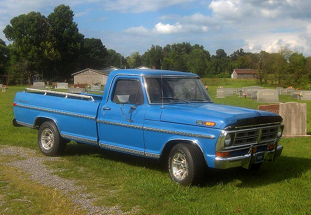 1972 ford pickup blue i saw this in blount county. Black Bedroom Furniture Sets. Home Design Ideas
