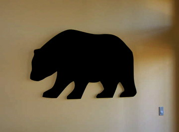 Bear Wall Art wooden wall art - a gallery on flickr