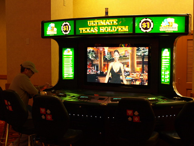 Virtual poker table v2