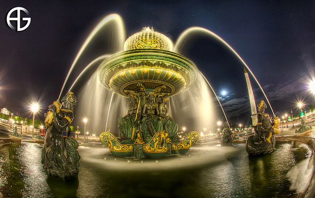 Fontaine des mers Moon Edition