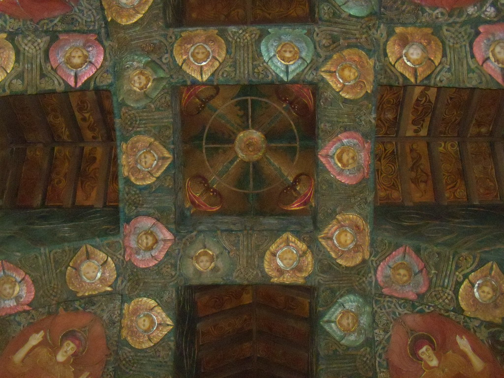 Ceiling Watts Chapel. Compton. Wanborough to Godalming