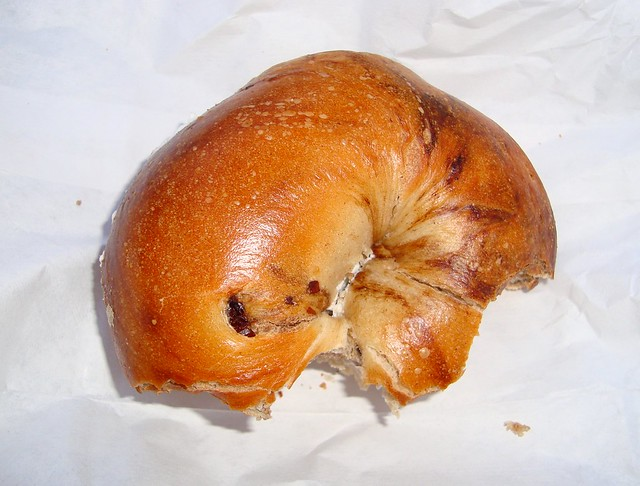 Cinnamon-Raisin Bagel | Flickr - Photo Sharing!