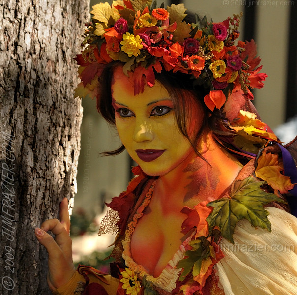 The Autumn Faerie