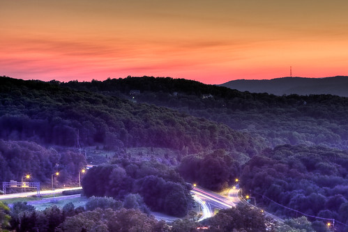 park new light sunset sky mountain west night canon river highway long exposure state outdoor hill scenic nj gap east route jersey delaware streaks overlook 80 rt hdr allamuchy hackettstown 40d