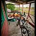 Second floor camping, Belize