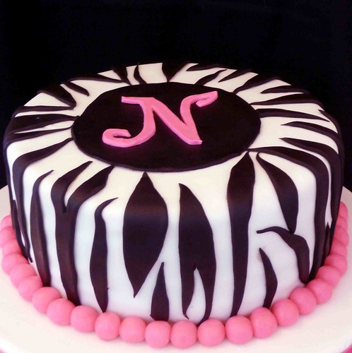 Cake With Zebra Design : Just for Fun: Cake Decorating - Cookin Canuck