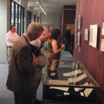 Guests View the Herring Collection