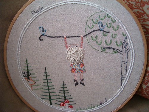 """Hand Stitched"" Embroidery SWAP"