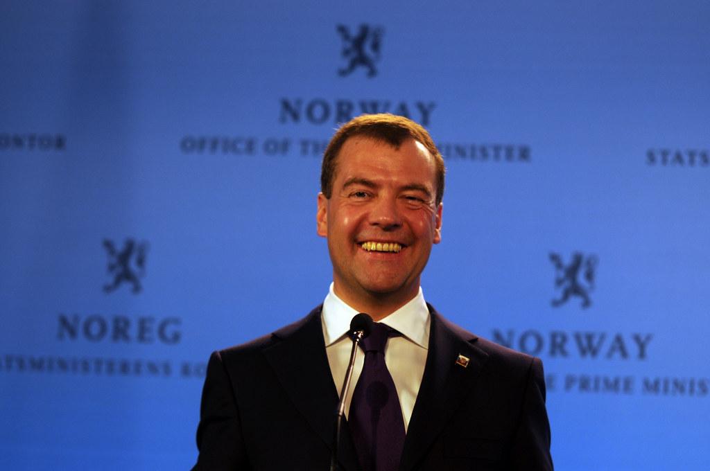 President Medvedev in Oslo