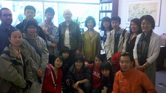 Student delegation from Chongqing, China