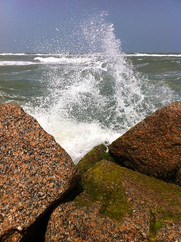 ocean statepark water waves texas corpuschristi christi corpus iphone crashingwaves mustangisland iphone4