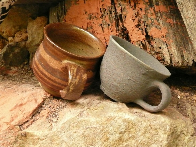 AT THE TABA POTTERY WORKS in the MOUNTAINS of OGIMI