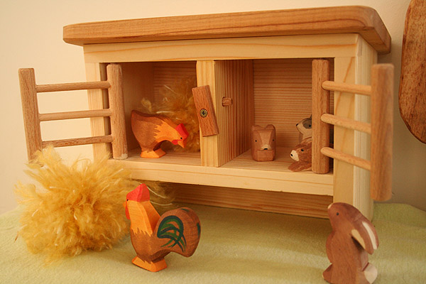 Chicken Coop and Rabbit Hutch
