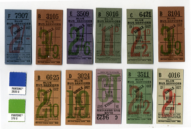 UK Bus Transfer Tickets from Flickr via Wylio