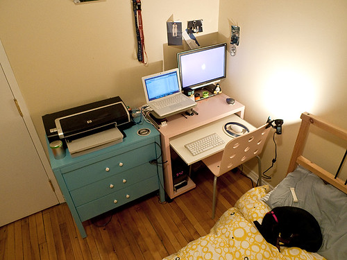 My Bedroom workspace