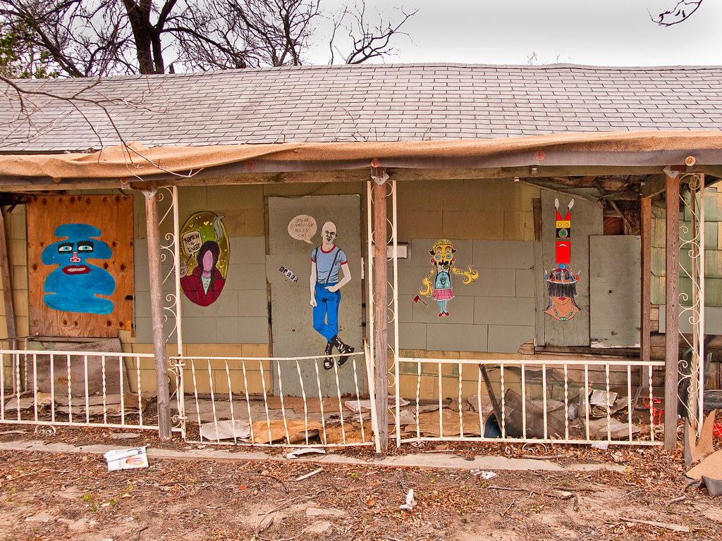 East Austin - Street Art by Bill Oriani