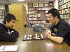 David and Sean playing Chinese Chess