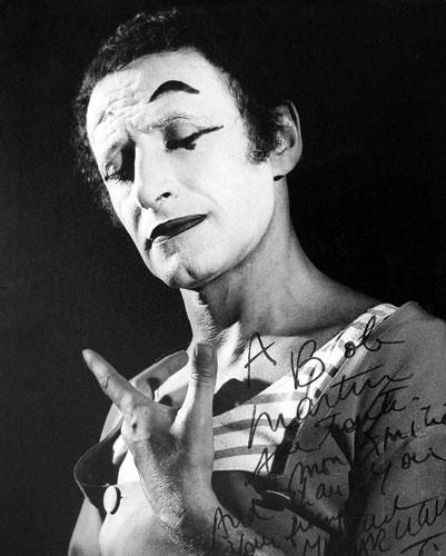 Young Marcel Marceau 0026 Marcel Marceau