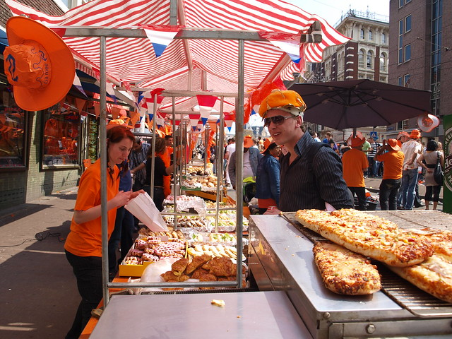 Queens Day, Amsterdam 2009