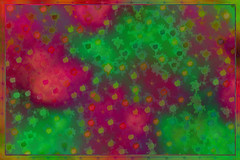 Pink and Green Splash Background ~ Free