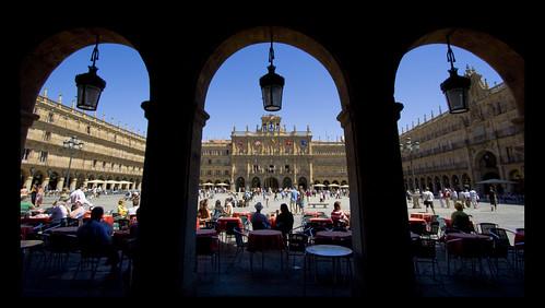 Triptych: El Corazón de Salamanca